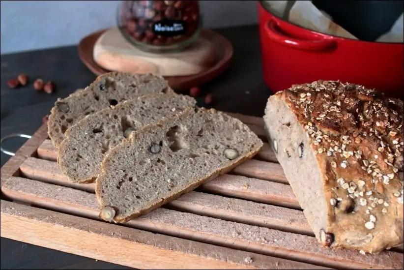 pain cocotte aux noisettes