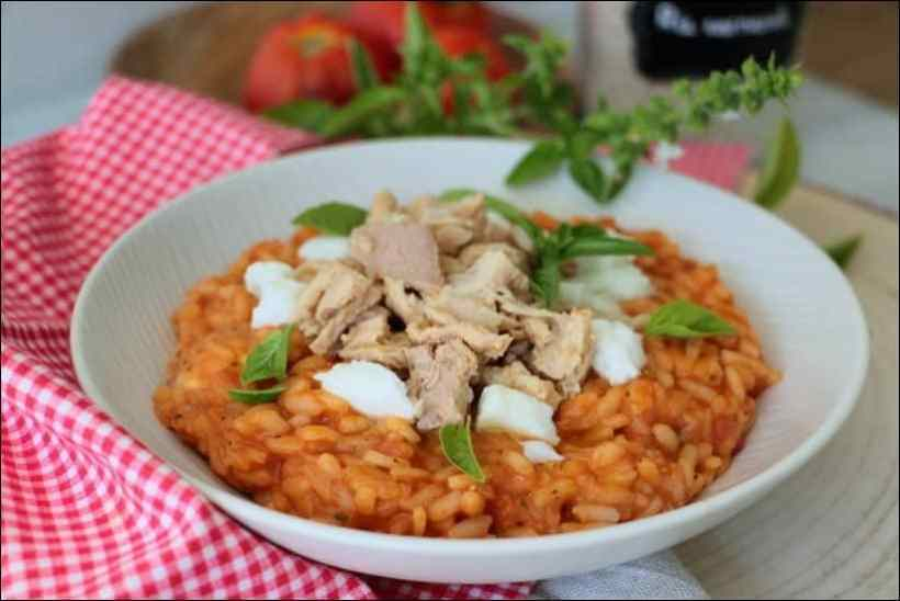 risotto tomate cyril lignac