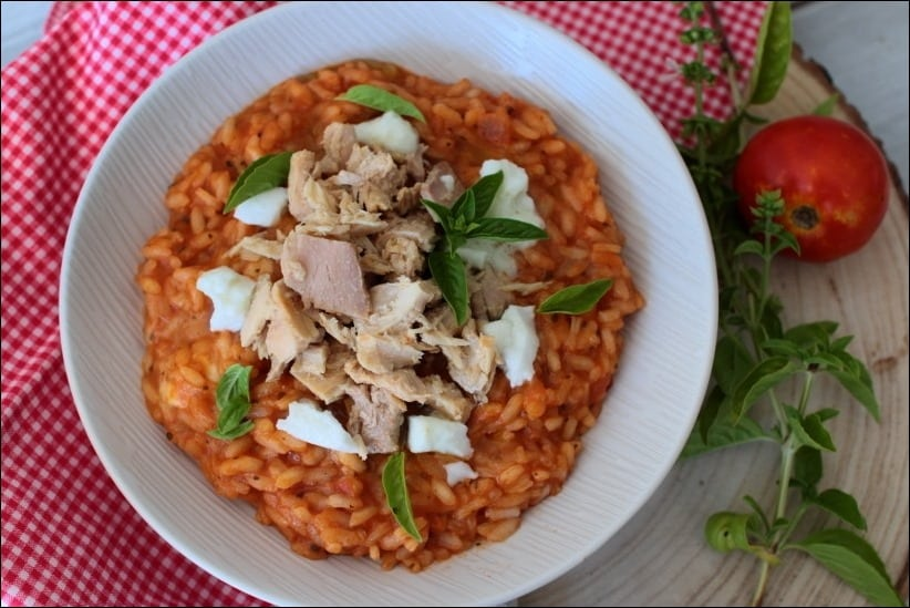 risotto thon tomate cyril lignac