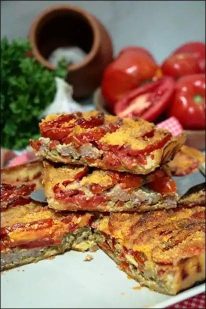 tarte tomate viande hachée