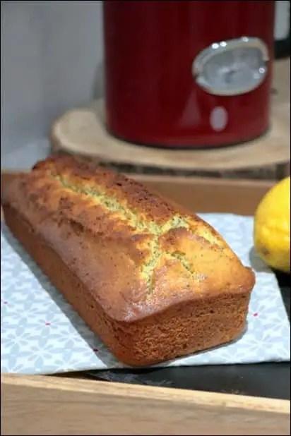 cake citron pavot chef