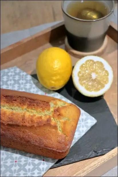 cake citron pavot 2 oeufs
