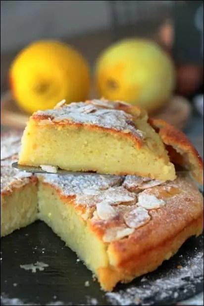 gateau moelleux fondant au citron