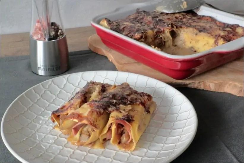 cannelloni aux endives et jambon