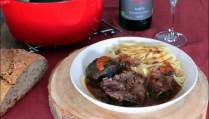 joues de boeuf aux 4 épices sauce barbecue et rhum