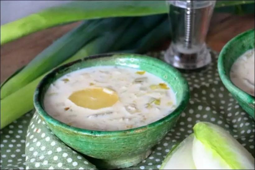 soupe endive poireau