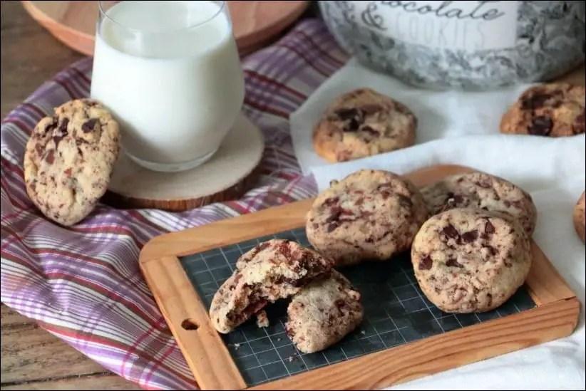 cookies chocolat lignac