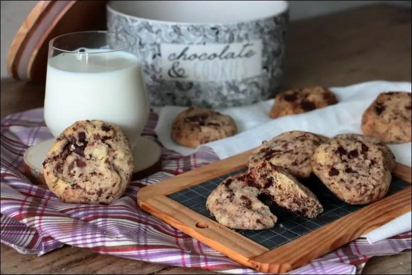 cookies aux 2 chocolats de Cyril Lignac