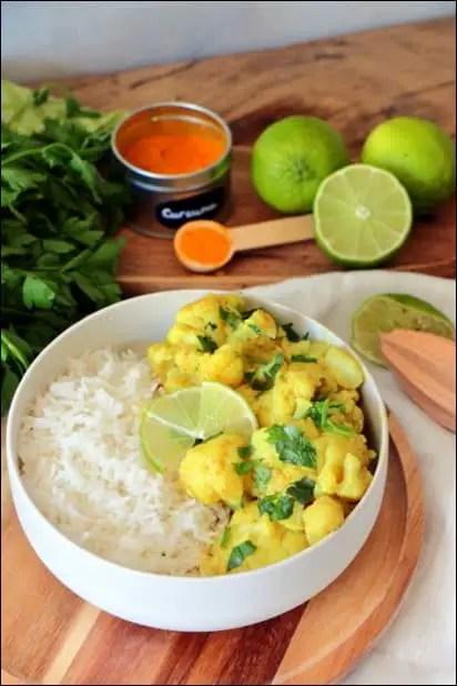 curry au chou-fleur