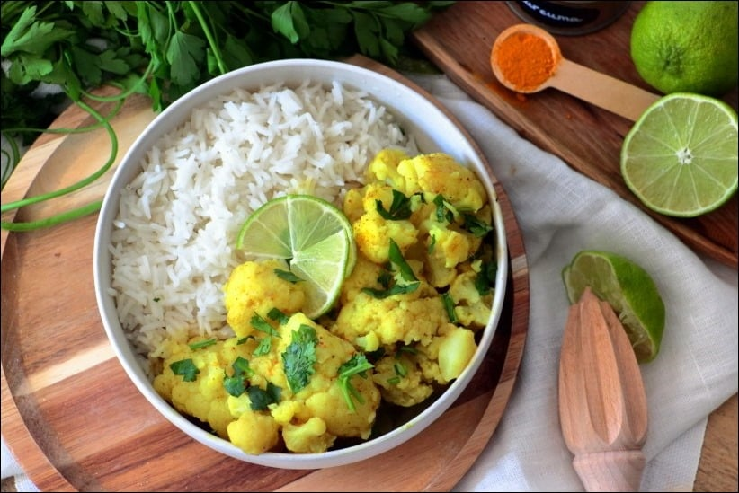 curry de chou fleur healthy