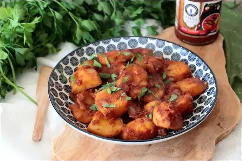 curry de pomme de terre indien
