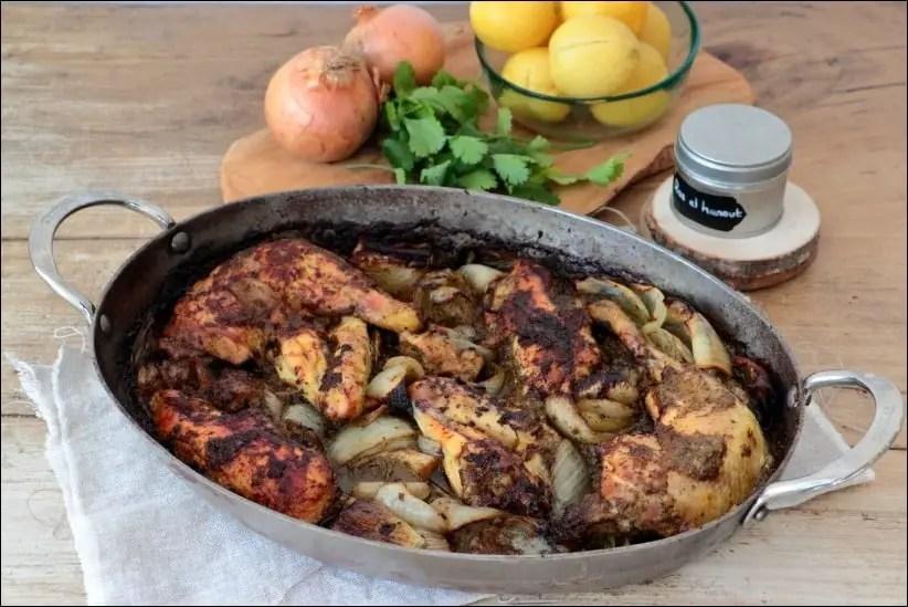 cuisse de poulet citron confit