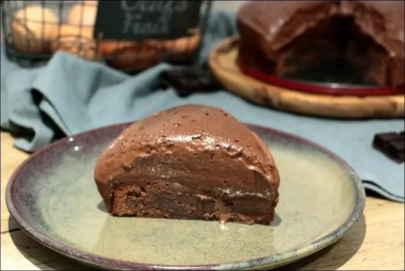 gâteau mousse au chocolat facile