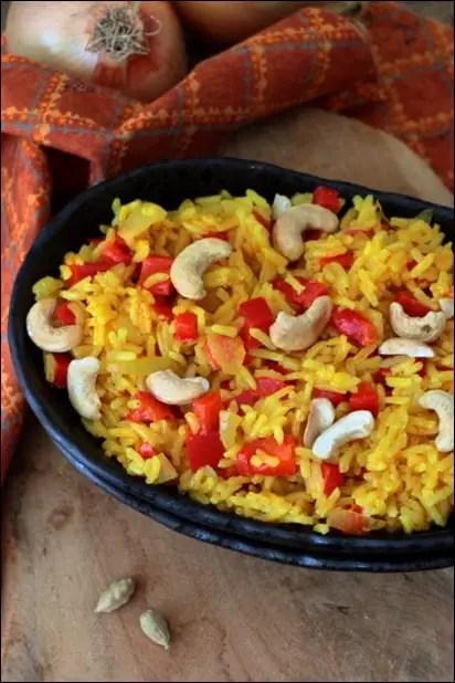 riz coco epices