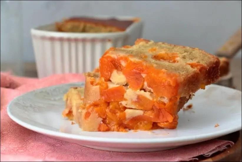 gâteau à l'abricot facile