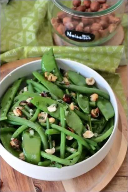 salade haricots verts dietetique