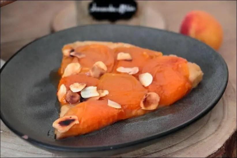 tatin d'abricots frais