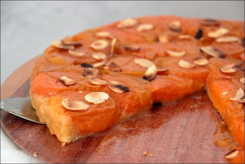tatin abricots frais