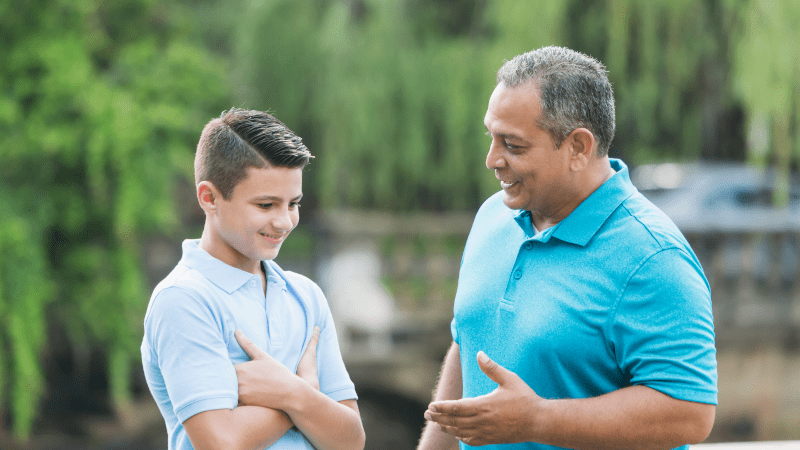 A huge part of discipling a school age child, age 9 thru 13, is having deeper conversations about their behavior