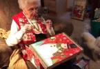 This Grandma Was Surprised With The Furry Surprise And She Couldn't Hide Her Happiness