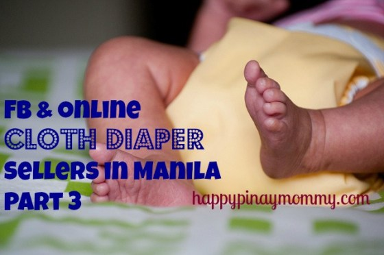 FB and online cloth diaper sellers in Manila PArt 3
