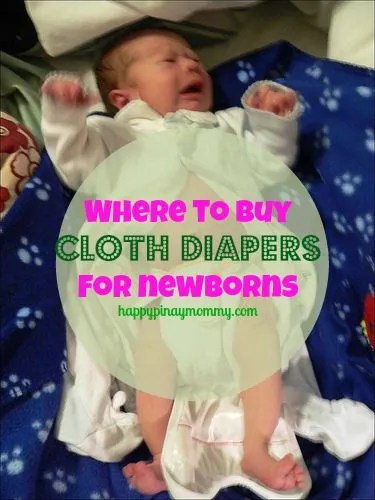 Where to buy cloth diaper for newborns in manila