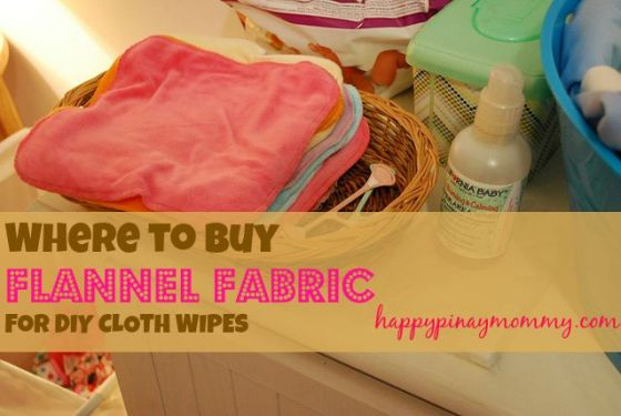 buy flannel fabric for cloth wipes in the philippines