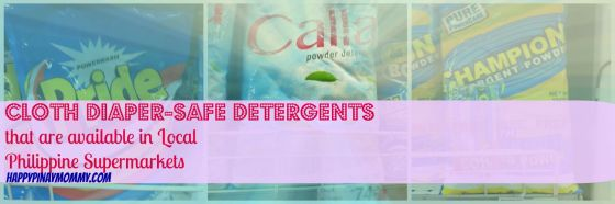 cloth diaper safe detergents in the phiippines
