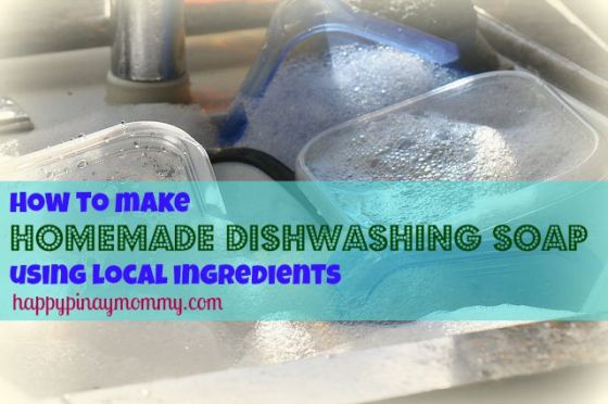 homemade Dishwashing soap in the Philippines
