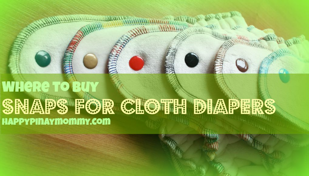Where to Buy Snaps for Cloth Diapers in the Philippines