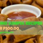 Filipino Lumpia Recipes under P100.00