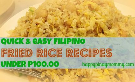 Quick and Easy Filipino Fried Rice Recipes