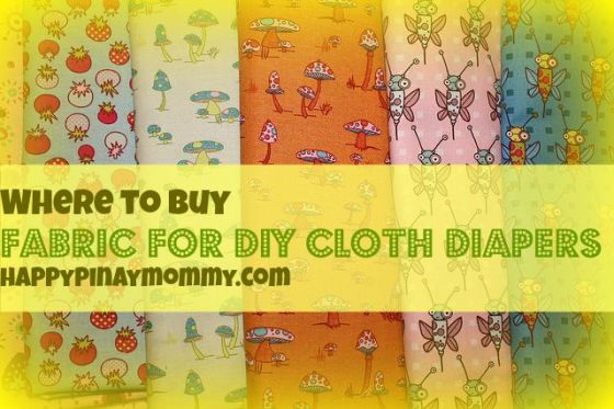 buy Fabric for cloth diaper DIY in the Philippines