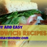 Yummy and Easy Sandwich recipes for baon