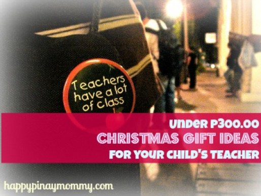 Under P300 Christmas Gifts for Teachers in the Philippines