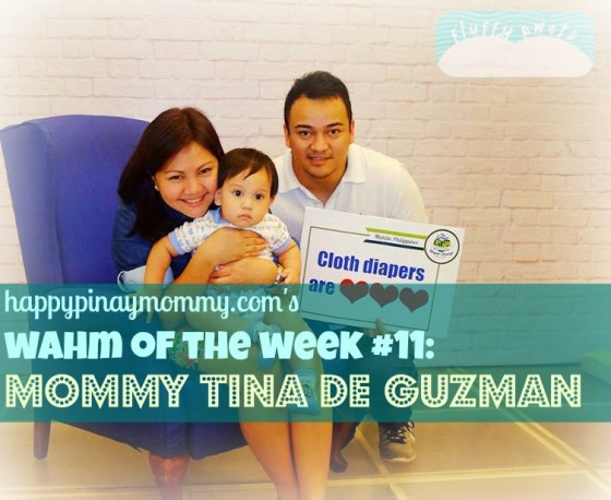 Tina De Guzman of Fluffy Pwets Cloth Diapers