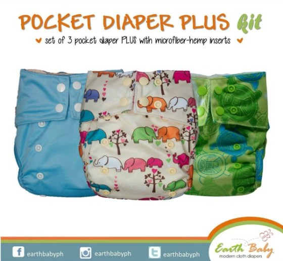 Earth Baby Cloth Diapers