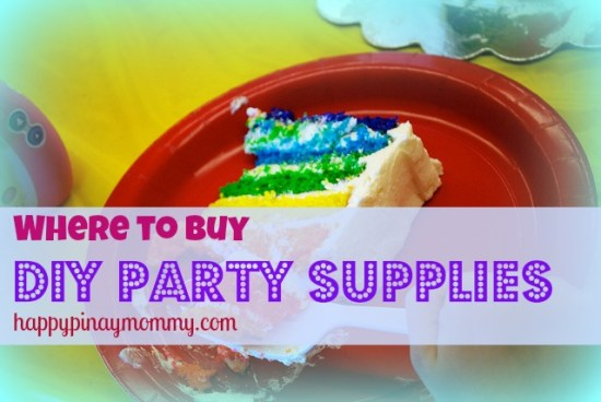 Buy DIY Party SUpplies in the Philippines