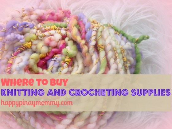 buy knitting and crocheting supplies in the Philippines