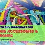 materials for hair accessories and headbands in the Philippines