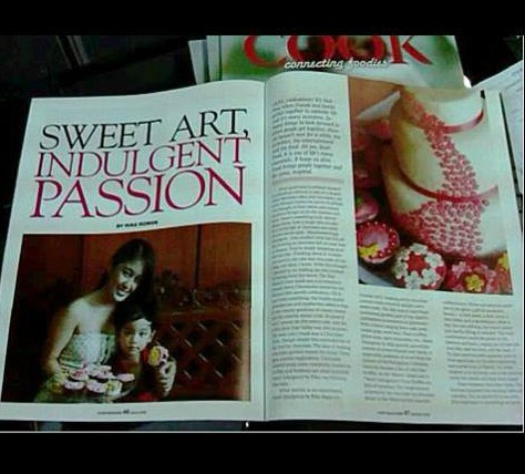 Mommy Rika Roman and her businesses have been featured in a Magazine