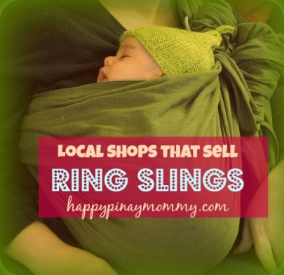 Buy Ring Slings in the Philippines. (Photo Credits)