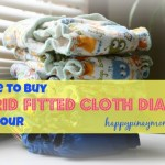 buy hybrid fitted cloth diapers in the Philippines. (Photo Credits)