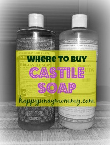 Where to buy Castile Soap in the Philippines