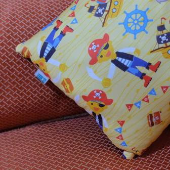 Custom Printed Pillows can be useful and adorable at the same time! (Photo taken from Fabrika MNL's FB Page)