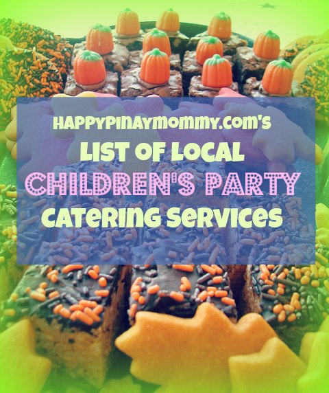 Looking for Children's Party Food Caterers in the Philippines? Here is a list. (Photo Credits)