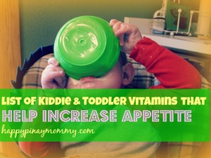 Here is a list of children and toddler vitamins to help increase appetite. (Photo Credits)