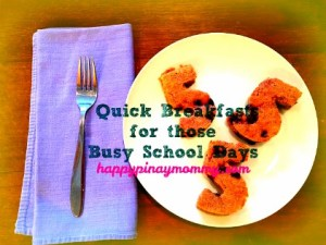 Hurried mornings? No problemo! here are some ideas for quick breakfasts for pinoy School Kids. (Photo Credits)