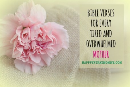 Feeling tired and weary? Sharing with you bible verses for overwhelmed mothers that I personally cling on to, when I needed that push.