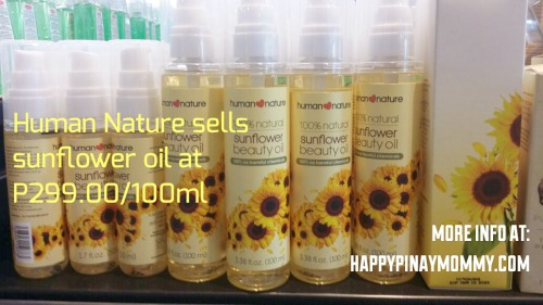 You can buy Sunflower Carrier Oils in Human Heart Nature Stores, distributors, online shops, and in major groceries and supermarkets.